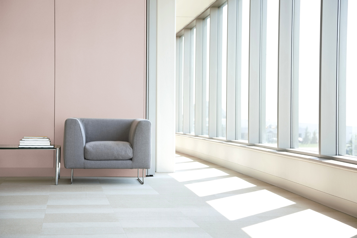 Seating area in hallway